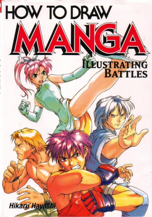 Best Books to Learn How to Draw Action and battels Manga