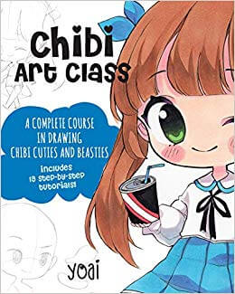 Best Books to Learn How to Draw Anime Chibis characters