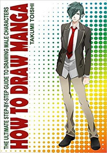 Best Books to Learn How to Draw Male Manga Characters