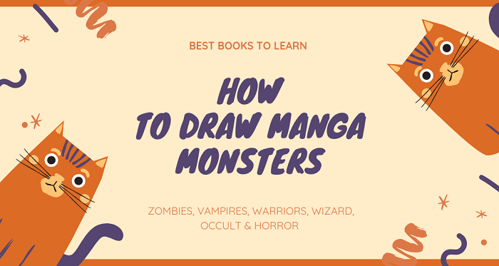Best Books to Learn How to Draw Manga Monsters Anime Beast