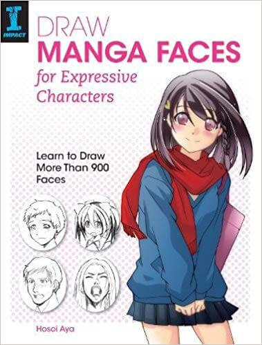 Best Books to Learn How to Draw anime Faces