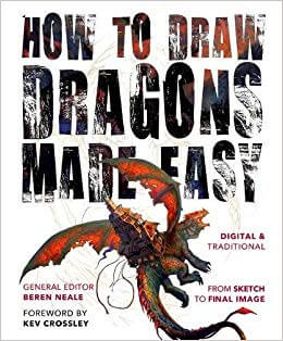 Books to Learn How to Draw Anime Dragons
