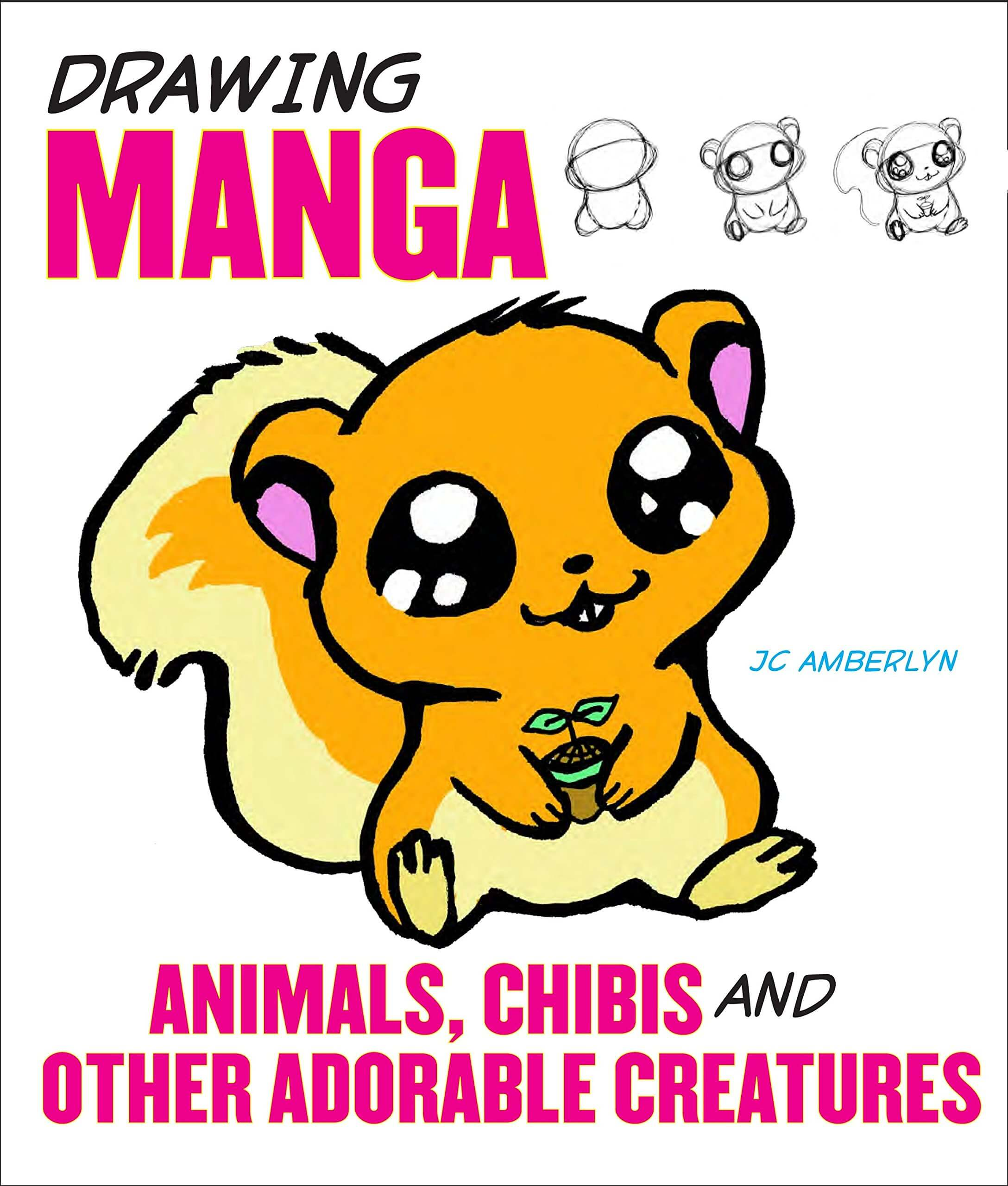 Books to Learn How to Draw Manga Animals and adorable creatures