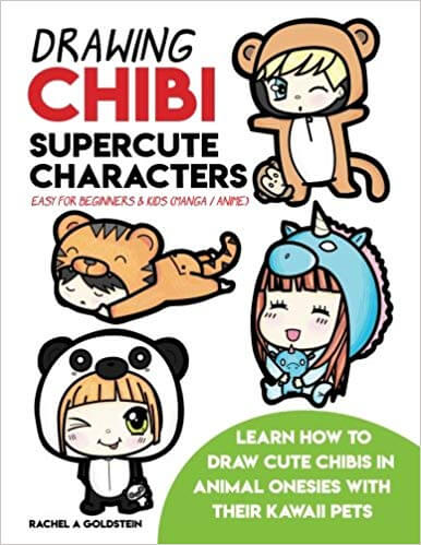 Books to Learn How to Draw Manga Animals and kawaii pets
