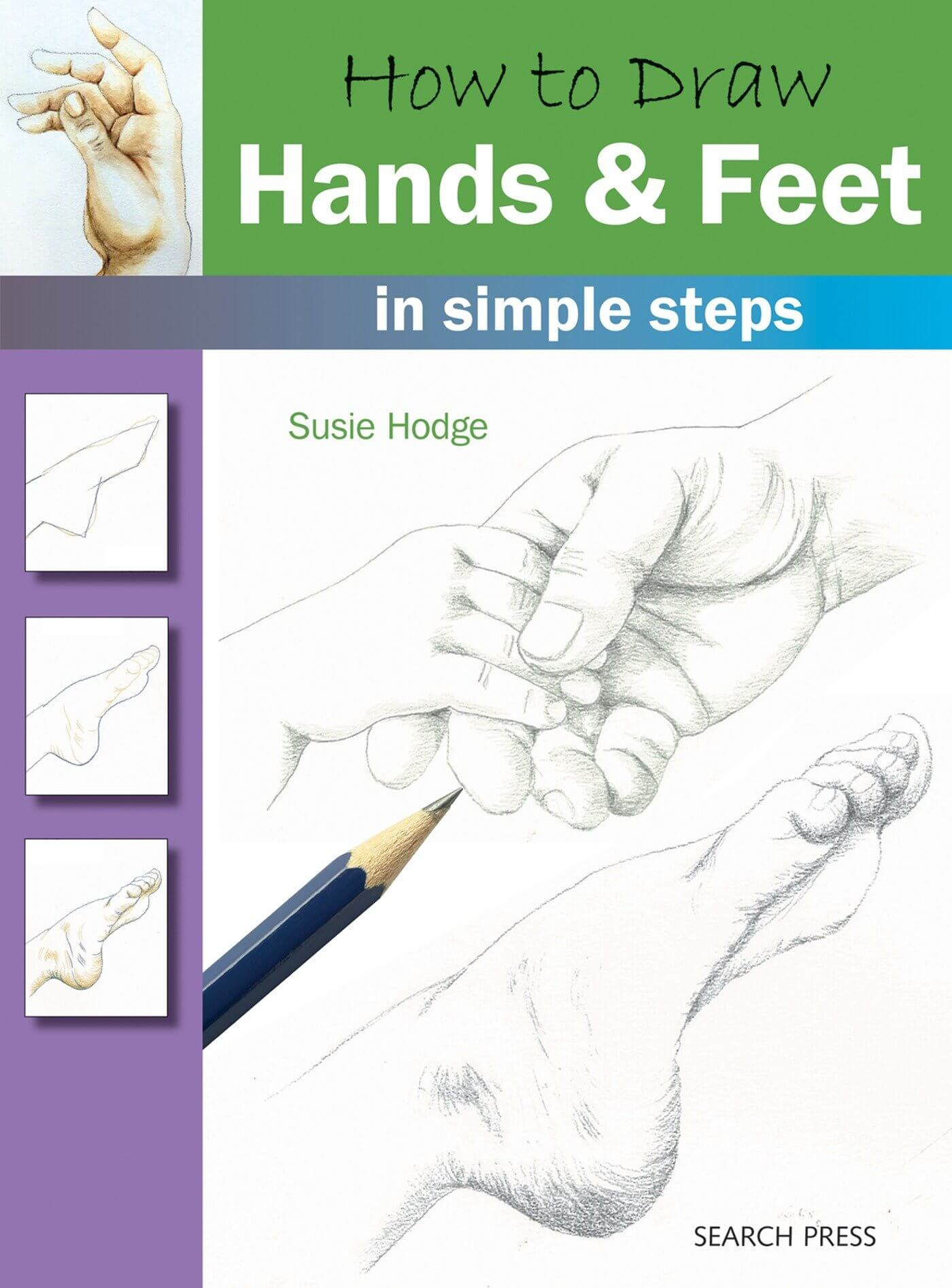 best books draw manga hands and feet