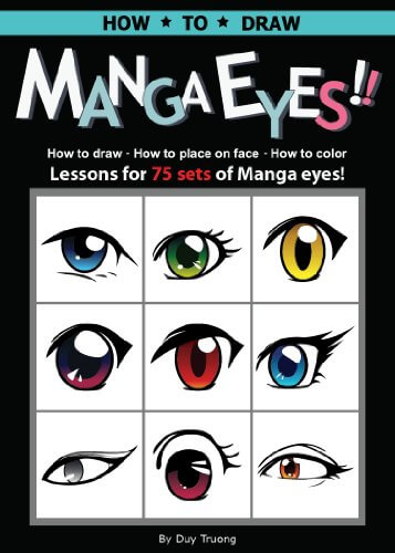 best books to draw manga eyes