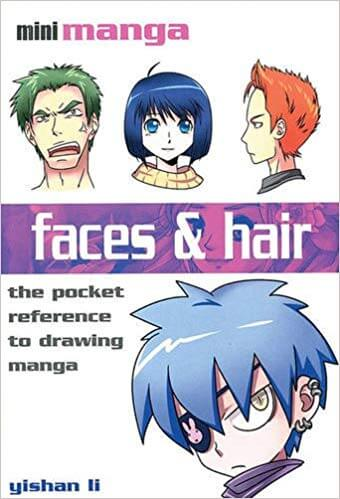 best books to learn how to draw anime hair