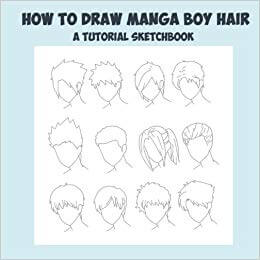 best male manga hair drawing books