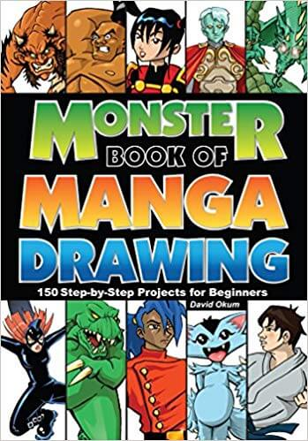 best monster book of manga drawing