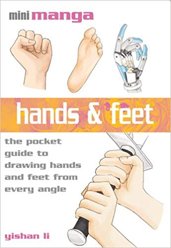 books to Draw Manga Hands and Feet