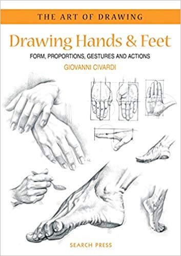 books to learn how to draw manga feet and hand