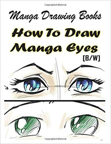 how to draw manga eyes books